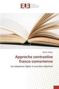 Approche Contrastive Franco-Comorienne