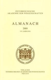 Almanach Der Osterreichischen Akademie Der Wissenschaften 2009