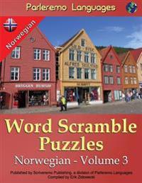 Parleremo Languages Word Scramble Puzzles Norwegian - Volume 3 - Erik Zidowecki | Inprintwriters.org