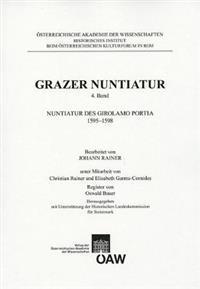 Nuntiatur Des Girolamo Portia 1595-1598