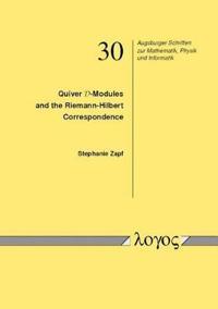Quiver D-modules and the Riemann-hilbert Correspondence