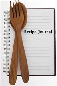 Recipe Journal: Ready to Cook Cooking Journal, Lined and Numbered Blank Cookbook 6 X 9, 180 Pages (Recipe Journals)