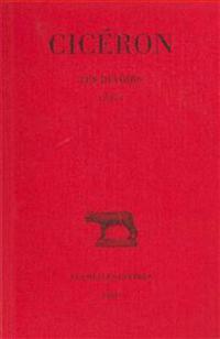 Ciceron, Les Devoirs: Introduction - Livre I