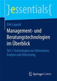 Management- Und Beratungstechnologien Im  berblick