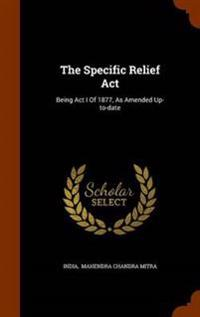 The Specific Relief ACT