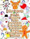 Little Princess God Jul Activity Book För Barn Spela Och Ha Kul Lär Dig Att Skriva Lär Dig Att Rita Linje Dots Dekorera Med Sidor Häng Sidorna