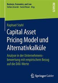 Capital Asset Pricing Model Und Alternativkalkule