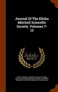 Journal of the Elisha Mitchell Scientific Society, Volumes 7-13