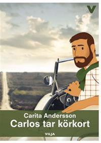 Carlos tar körkort (bok + ljudbok)