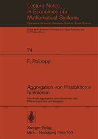 Aggregation von Produktionsfunktionen