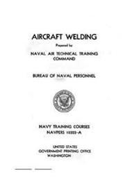 Aircraft Welding, Navpers