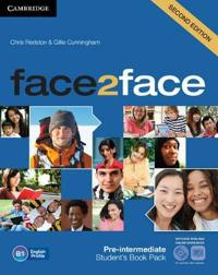 Face2face Pre-intermediate + Dvd-rom + Online Workbook Pack