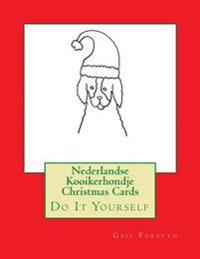 Nederlandse Kooikerhondje Christmas Cards: Do It Yourself