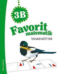 Favorit matematik Tankenötter 3B, 5-pack