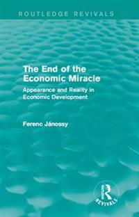 End of the Economic Miracle