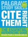 Cite them right - the essential referencing guide
