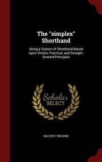 The Simplex Shorthand