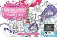 One and only elephant parade postcard coloring book