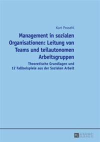 Management in Sozialen Organisationen: Leitung Von Teams Und Teilautonomen Arbeitsgruppen: Theoretische Grundlagen Und 12 Fallbeispiele Aus Der Sozial