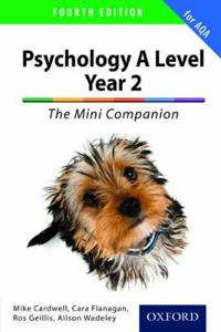 Complete companions for aqa: a level year 2 psychology: the mini companion