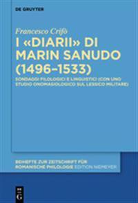 I Diarii Di Marin Sanudo 1496-1533