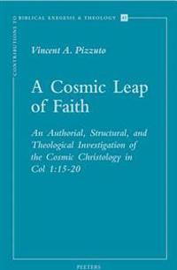 A Cosmic Leap of Faith