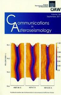Communications in Asteroseismology Volume 162 2011