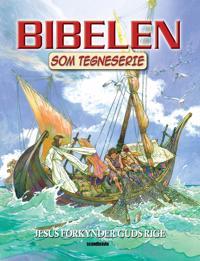 Bibelen som tegneserie-Jesus forkynder Guds rige