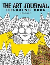 The Art Journal Coloring Book: Volume 1