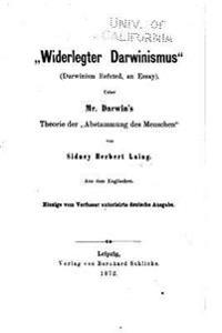 Widerlegter Darwinismus