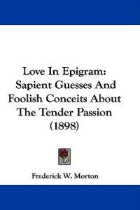 Love in Epigram