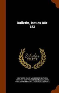 Bulletin, Issues 180-183