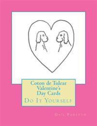 Coton de Tulear Valentine's Day Cards: Do It Yourself