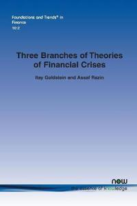 Three Branches of Theories of Financial Crises