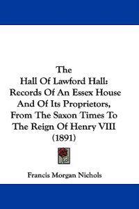 The Hall of Lawford Hall