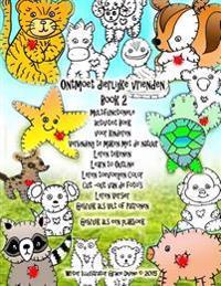 Ontmoet Dierlijke Vrienden Book 2 Multifunctionele Activiteit Boek Voor Kinderen Verbinding Te Maken Met de Natuur Leren Tekenen Learn to Outline Lere