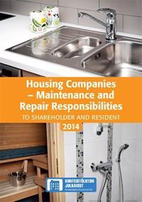 Housing Companies - Maintenance and Repair Responsibilites 2014