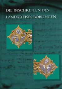 Die Inschriften Des Landkreises Boblingen