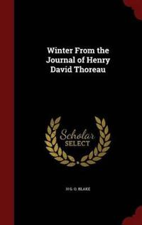 Winter from the Journal of Henry David Thoreau