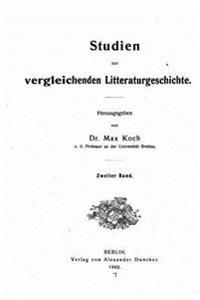 Studien Zur Vergleichenden Literaturgeschichte
