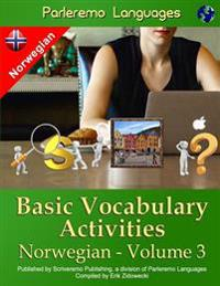 Parleremo Languages Basic Vocabulary Activities Norwegian - Volume 3 - Erik Zidowecki   Ridgeroadrun.org