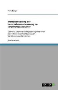 Wertorientierung Der Unternehmenssteuerung Im Informationszeitalter