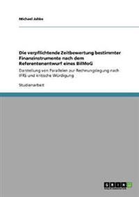 Die Verpflichtende Zeitbewertung Bestimmter Finanzinstrumente Nach Dem Referentenentwurf Eines Bilmog