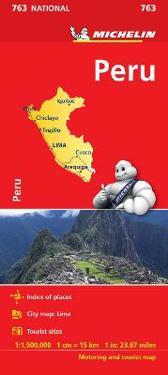 Peru Michelin 763 karta : 1:1,5milj