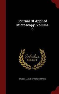 Journal of Applied Microscopy; Volume 3