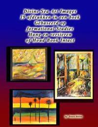 Divine Sea Art Images 19 Afdrukken in Een Boek Gebaseerd Op Formational Studies Hang En Versieren of Houd Book Intact