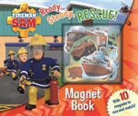 Fireman Sam: Ready, Steady, Rescue! Magnet Book