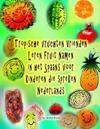 Tropische Vruchten Vrienden Leren Fruit Namen in Het Spaans Voor Kinderen Die Spreken Nederlands