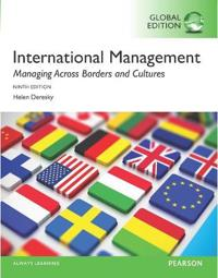 International management: managing across borders and cultures, text and ca