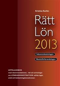 Rätt Lön 2013